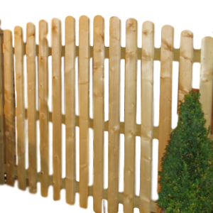 Picket Palisade Fence Panels and Gates