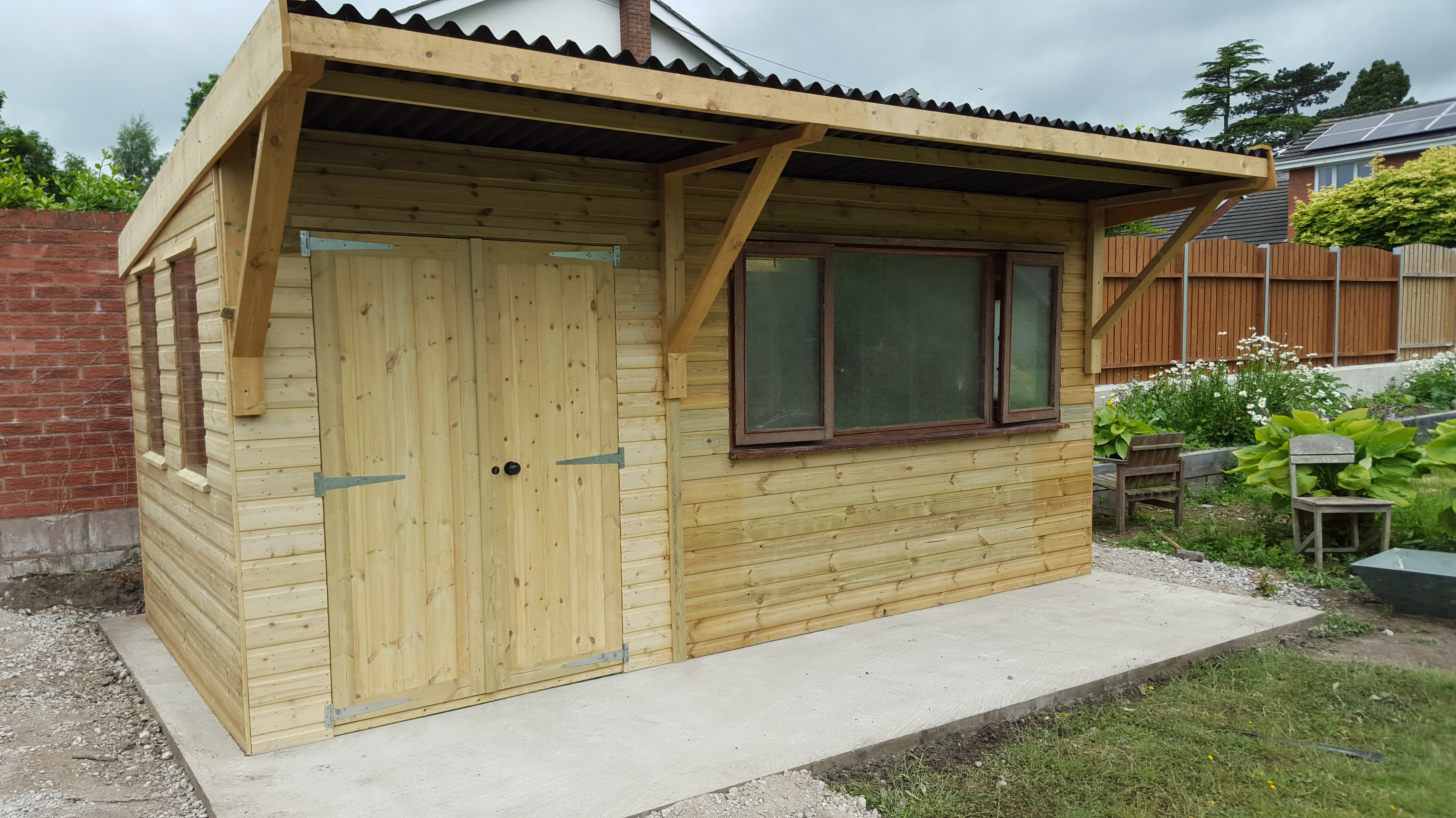 The Portishead Shiplap Shed Apex Or Pent Roof Denbigh